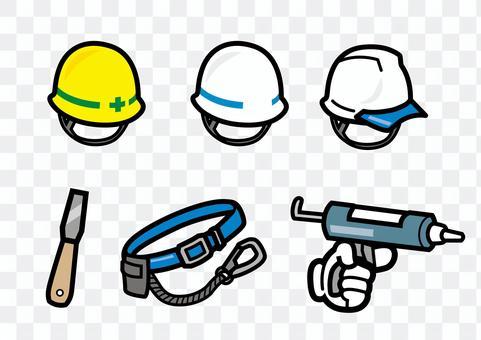施工頭盔安全帶防水k1