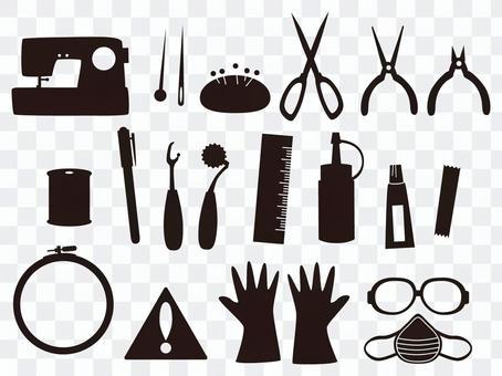 手工制作的图标
