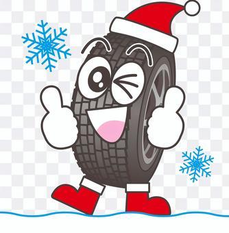 聖誕老人輪胎2