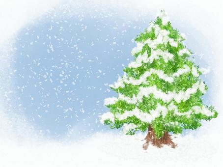 Winter card