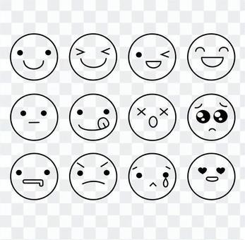 表情アイコンセット