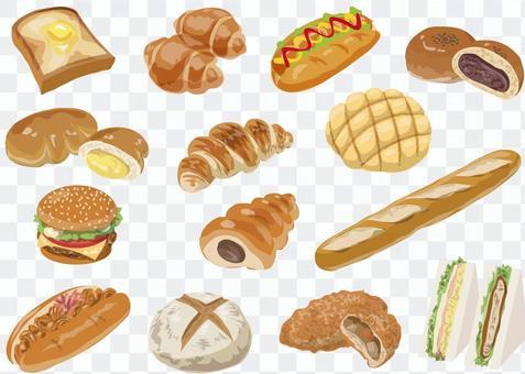 沒有麵包資產線