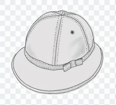 校帽(黑白)
