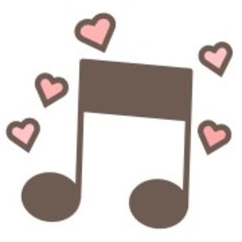 音樂音符簡單可愛符號