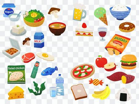 Foods related to diet