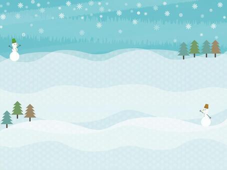 Snowman's Wallpaper