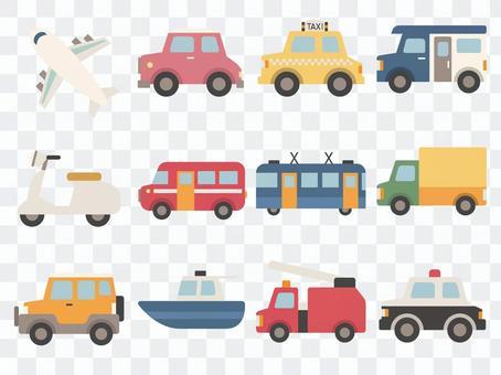 車輛插圖集