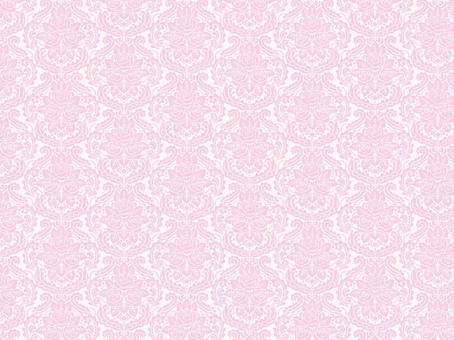 錦緞模式的玫瑰粉紅色