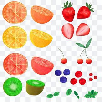 フルーツ素材