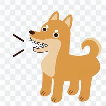 吠狗的形象