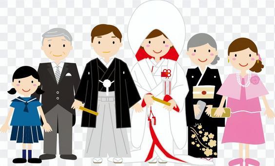 婚禮家族寫真
