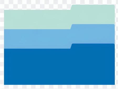 File type frame _ Blue