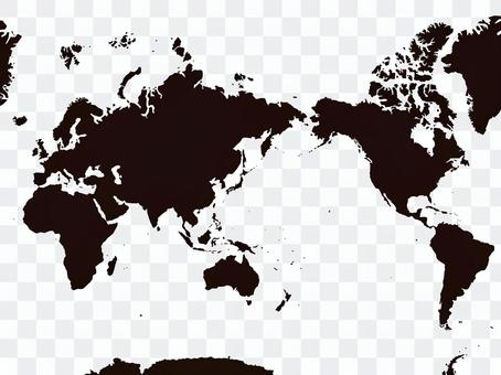世界地圖[2]矢量素材