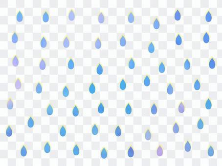背景佈滿了美麗的雨滴