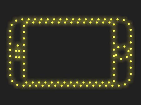 智能手機照明圖標材質:黃色