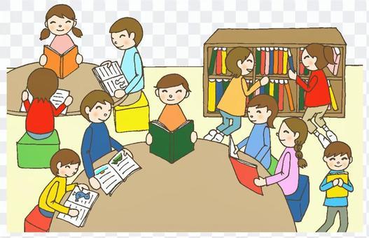 一個圖書館