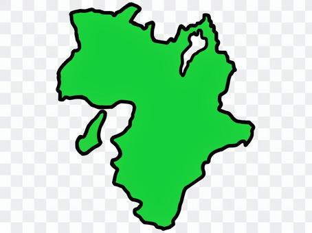松近畿地圖