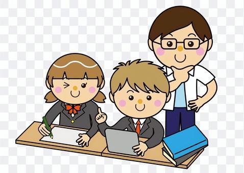 學生12_09(男女平板電腦學習)