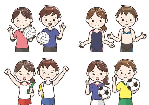 Club activity illustration 13