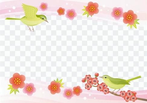 鸟框架日本风格