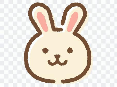 兔子face_hand繪製