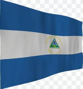 尼加拉瓜的旗幟