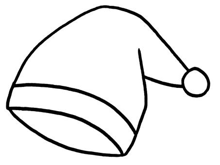 睡帽/線描