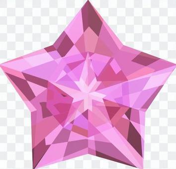 星級鑽石_粉紅色