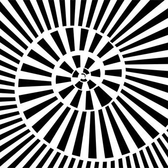 輻射幾何抽象奇蹟漩渦
