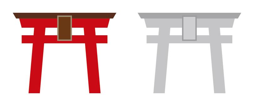 Torii (red · white)