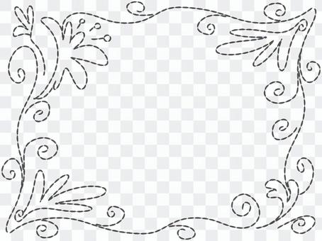 Embroidery frame