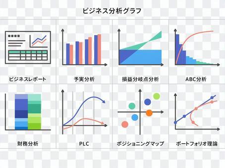ビジネス分析グラフ