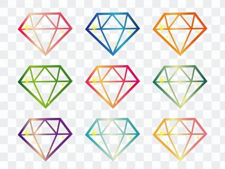 鑽石套裝(僅行)