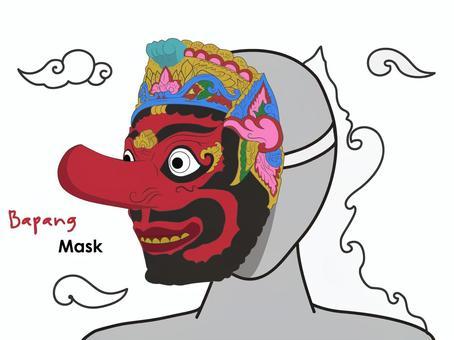 印尼傳統面具