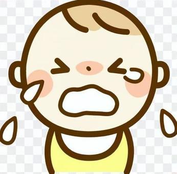 哭泣的嬰兒