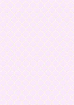 粉紅色的奶油摩洛哥背景圖案