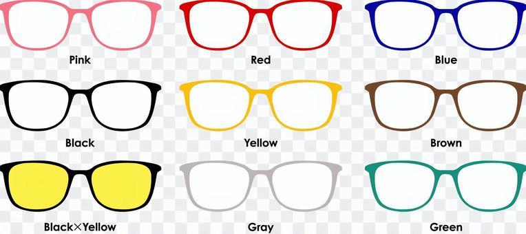 惠靈頓型眼鏡