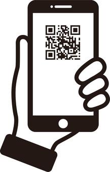 2D code, bar code, payment, smartphone