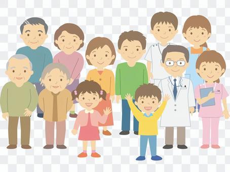 4代和醫護工作者