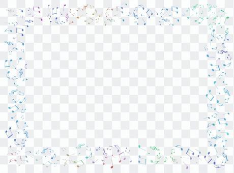 筆記框架(藍色系列)