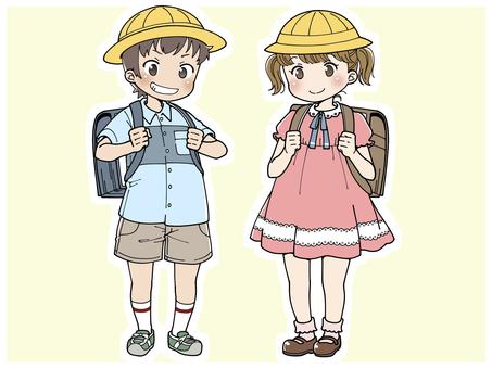 小學生男女