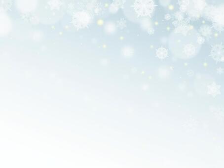 雪水晶背景
