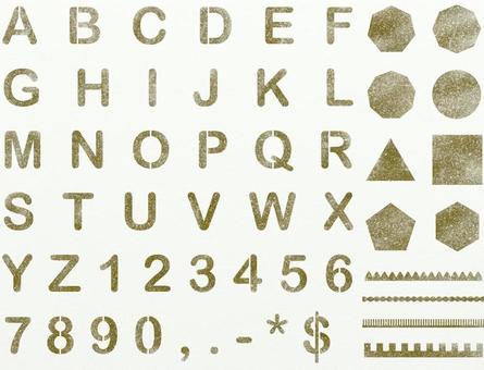 字母數字橄欖