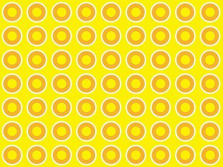 黃色背景白色橙色黃色點