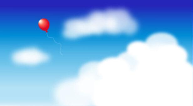 天空和氣球(寬)