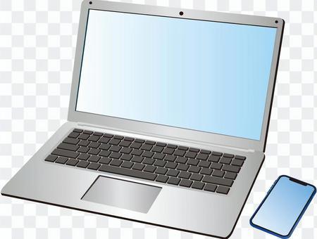 ノートPC+スマホ