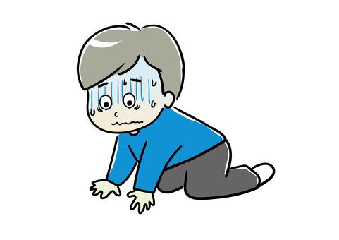 鬱悶男圖01