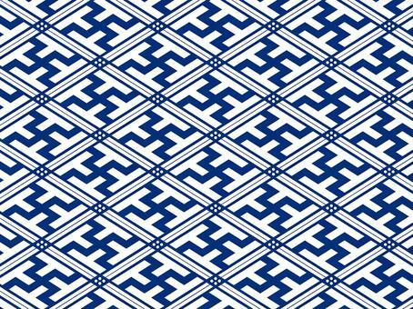ai漢字連接模式與色板