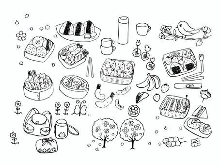 春假和外帶午餐