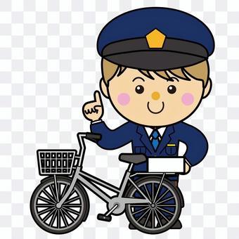 男39_16(警察/自行車)